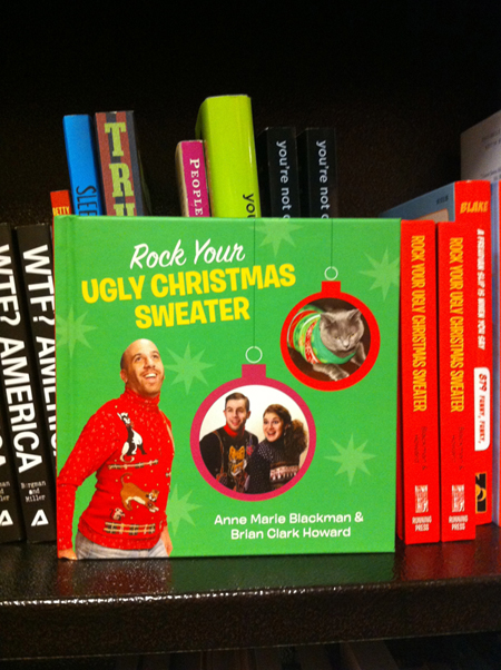 Rock Your Ugly Christmas Sweater at Barnes and Noble